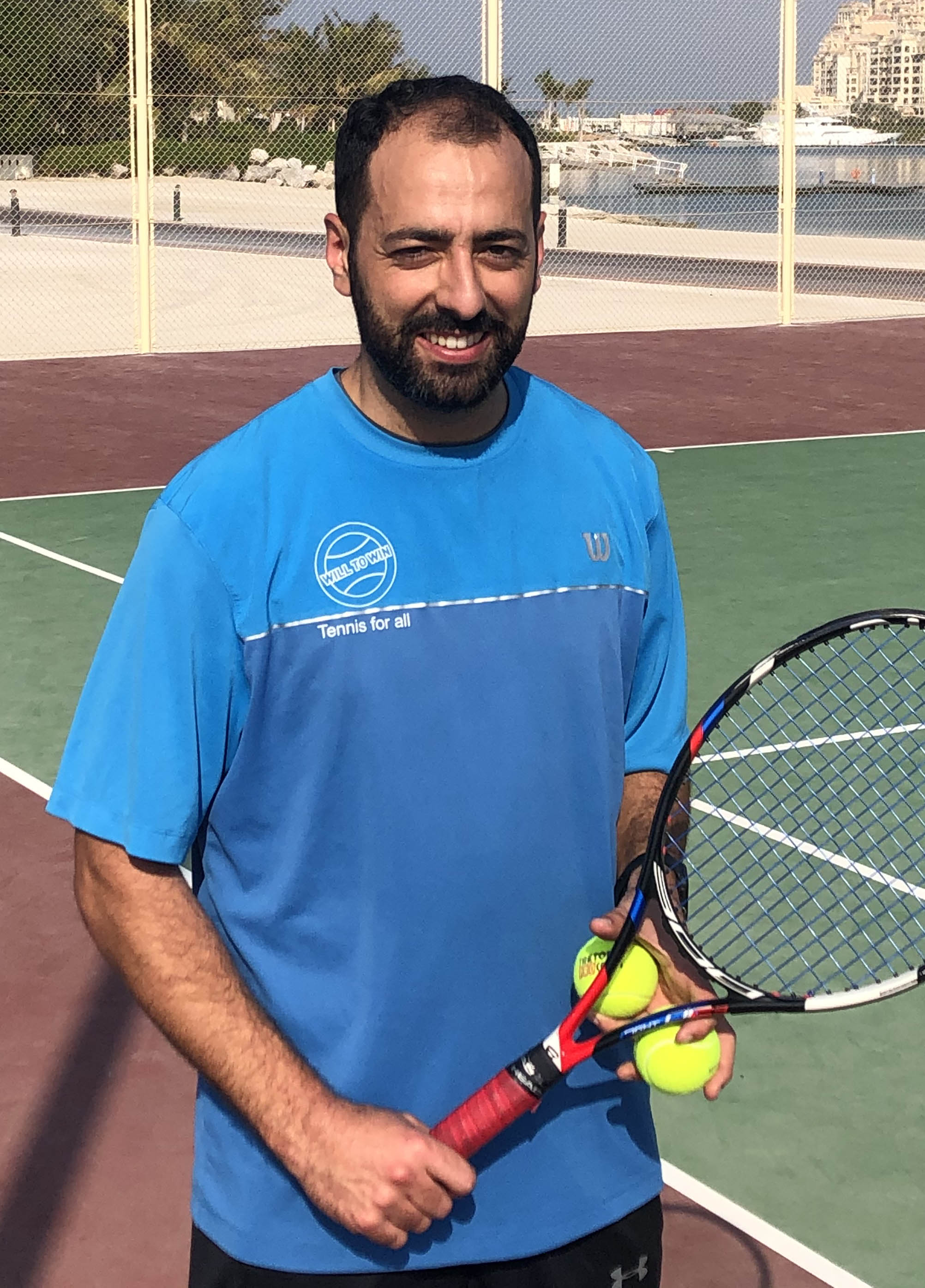 Ismail Kanoun RAT Tennis Coach Will to Win